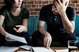 Americans struggling to pay their debts