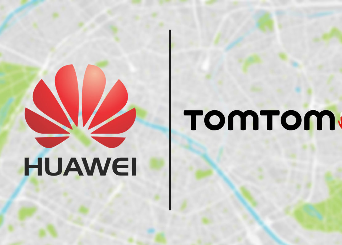 Huawei Teams Up With TomTom For Map Services