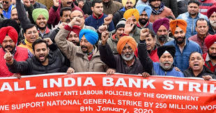 Millions of Indians protest against labor policies of government