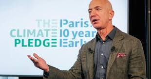 Instagram post from Jeff Bezos explains his plans for environment